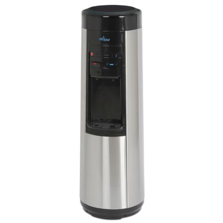 Vitapur Vwd9506bls Pou Floor Standing Point Of Use Water Dispenser  Hot Room Cold  With Piano Push Buttons  On Demand Kettle Feature Heating System