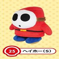 Sanei Super Mario All Star Collection AC25 Shy Guy 6.5 Plush