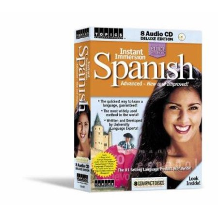 Instant Immersion Spanish Advanced   New   Improved   By Topics Entertainment