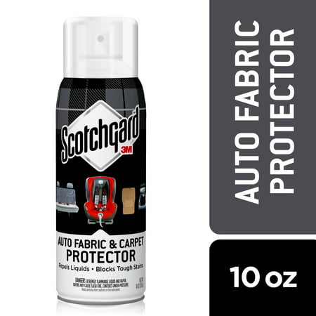 Scotchgard Auto Interior Fabric & Carpet Protector, 10 fl oz., 1 (Best Car Fabric Protector)