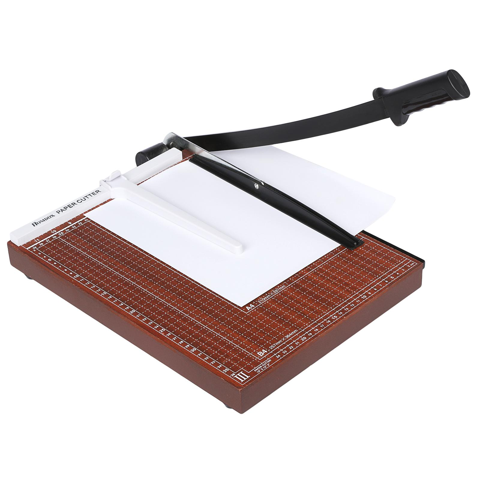 CYBST 12 Inch Paper Trimmer Paper Cutter A3 A4 B5 A5 B6 B7 Cut Length 12 SHeets Capacity Office School Home... by