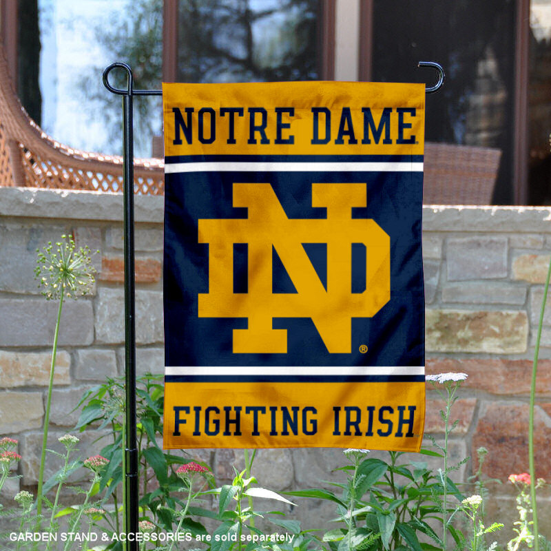 "University of Notre Dame Fighting Irish 13"" x 18"" College Garden Flag"