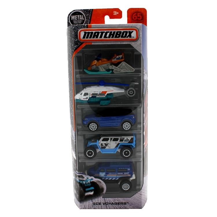 Matchbox Ice Voyager 5-Pack by Mattel