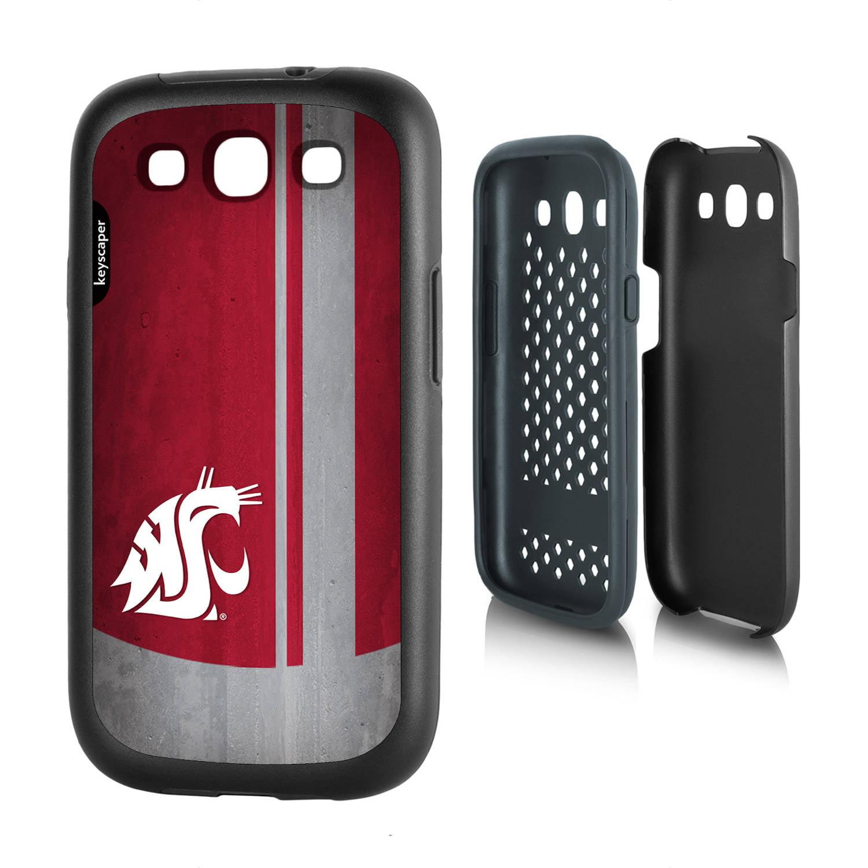 Washington State Cougars Galaxy S3 Rugged Case