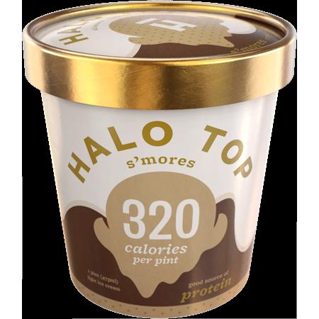 Halo Top SMores Ice Cream - 16oz