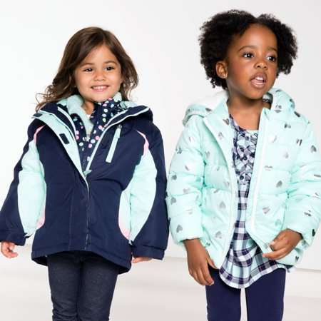 195cbc607 Healthtex - Baby Toddler Girl 3 In 1 Ski Snowboard Jacket With ...