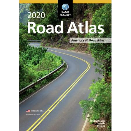 Rand mcnally 2020 road atlas (paperback): 9780528020995 ()