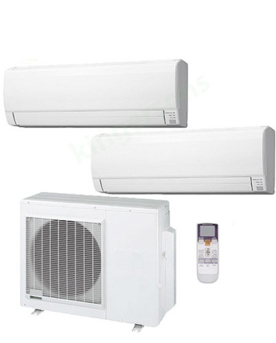 2 Split Type Air Conditioner and 1 Multi-Zone Hybrid Flex Heat Pump AC - USED