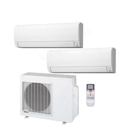 2 Split Type Air Conditioner and 1 Multi-Zone Hybrid Flex Heat Pump AC - (Best Type Of Air Conditioner)