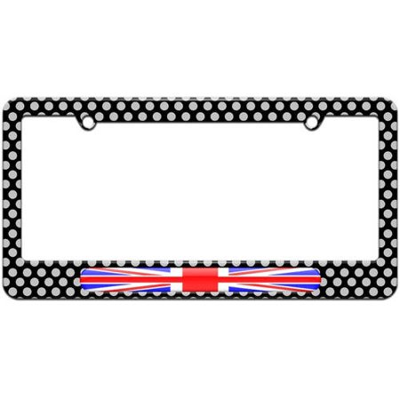 UK Flag United Kingdom, British Flag License Plate Tag Frame ...