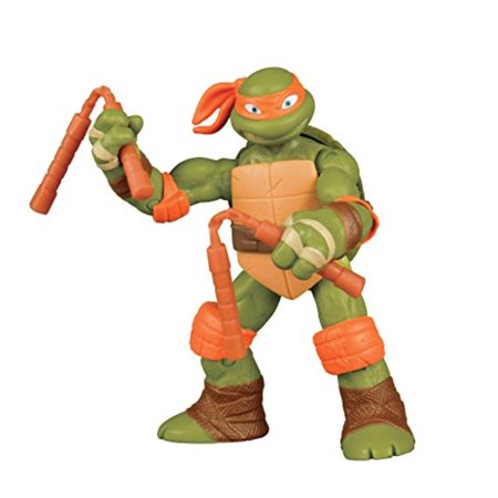 Teenage Mutant Ninja Turtles Michelangelo (Nickelodeon Teenage Mutant Ninja Turtles Re-Deco Action Figure,)