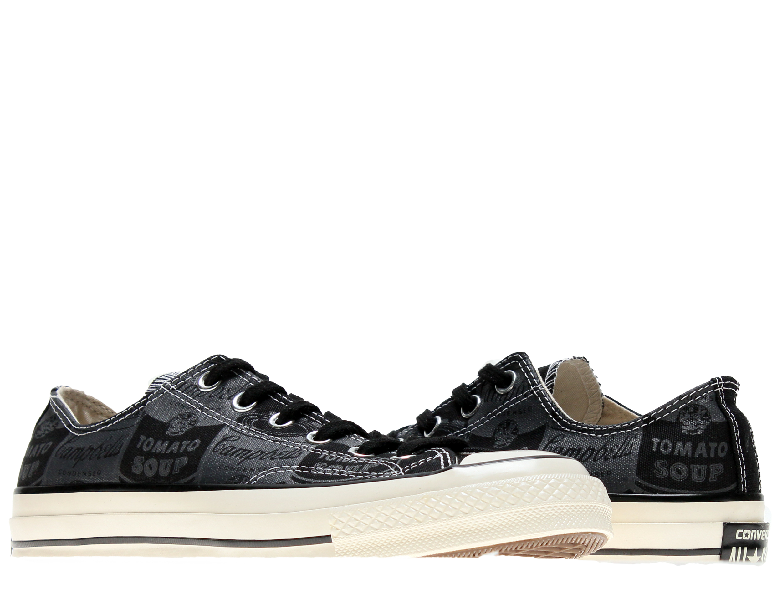 Converse Chuck Taylor All Star '70 Black Low Top Sneakers 147123C by