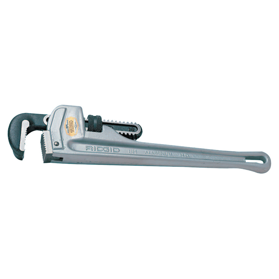 Ridgid Aluminum Straight Pipe Wrenches Alloy Steel Jaw 18 in  sc 1 st  Walmart : ridgid 18 inch pipe wrench - www.happyfamilyinstitute.com