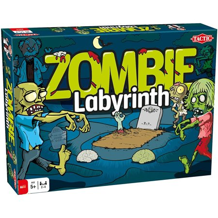 Zombie Labyrinth  Multi  Board Game  4 Player