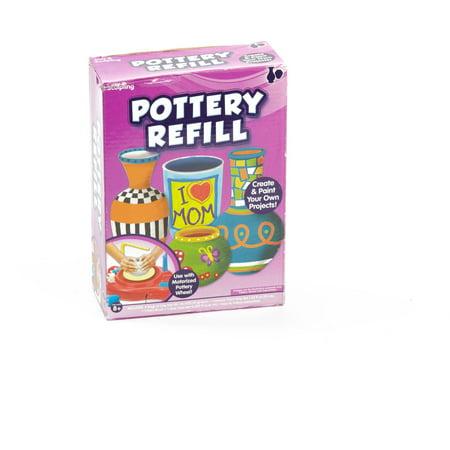 Kids Craft Pottery Wheel Kit Refill By Horizon Group Usa