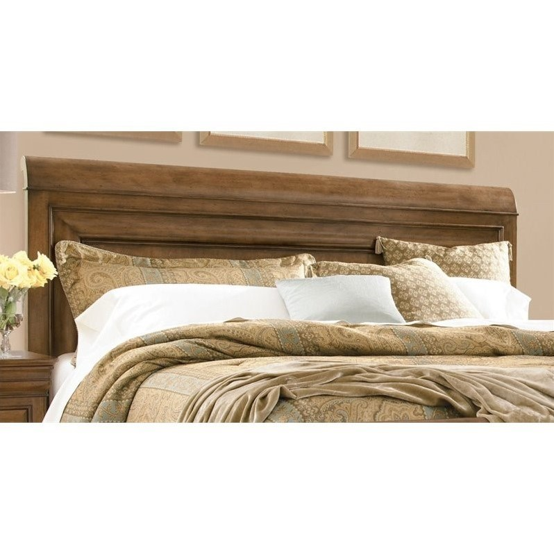 Universal Furniture New Lou Queen Sleigh Headboard in Cognac