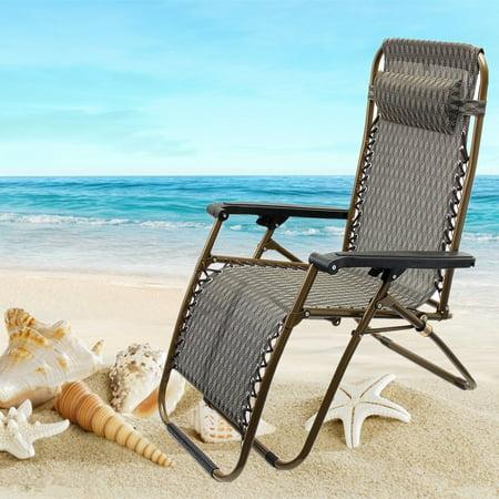 Cool Portable Reclining Sun Loungers Chair Backpack Anti Gravity Machost Co Dining Chair Design Ideas Machostcouk