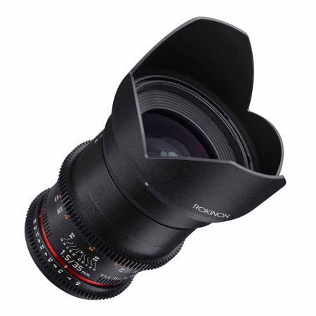 ROKINON 35mm T1.5 Cine DS Full-Frame Lens for Nikon (Rokinon 35mm T1 5 Cine Ds Lens)