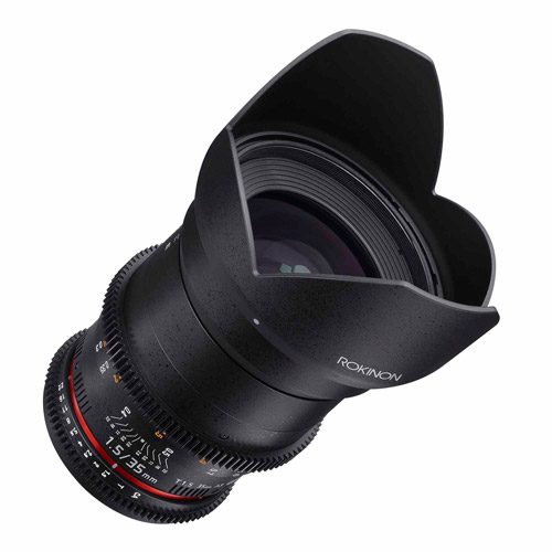 ROKINON 35mm T1.5 Cine DS Full-Frame Lens for Nikon Cameras