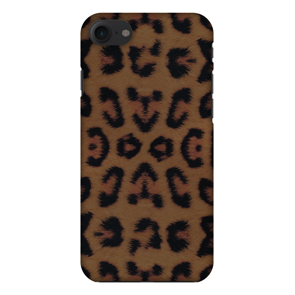 iPhone 7 Designer Case, Premium Handcrafted Printed Designer Hard ShockProof Case Back Cover for iPhone 7 - Wild Leopard