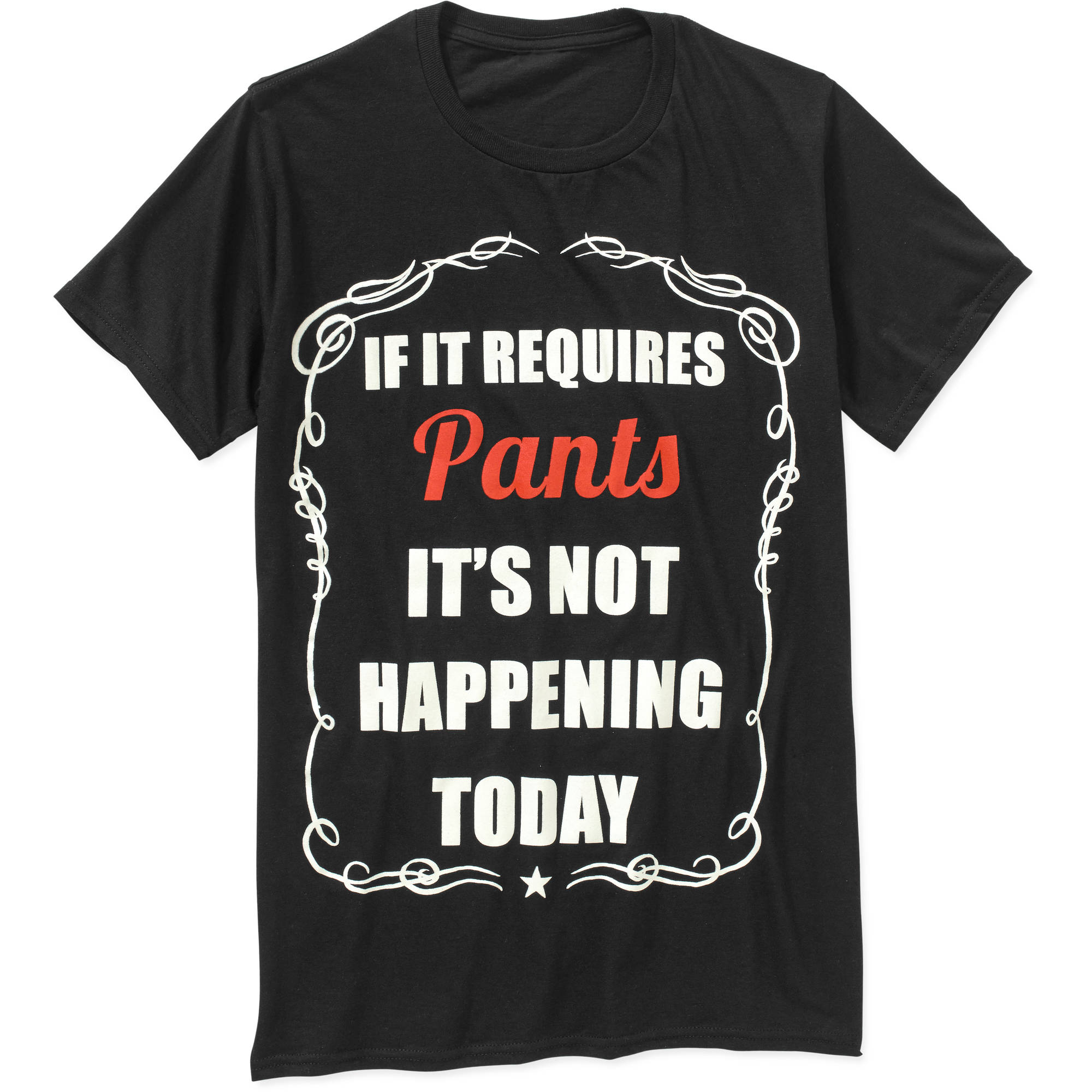 If It Requires Pants Big Men's Graphic Tee