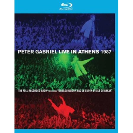 GABRIEL P-PETER GABRIEL-LIVE IN ATHENS 1987 & PLAY (BLU-RAY/DVD COMBO) (10 Best Places To Visit In Athens)