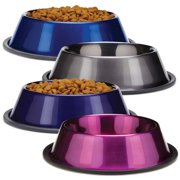 Proselect Duragloss Metallic Ss Bowl 16oz Blu