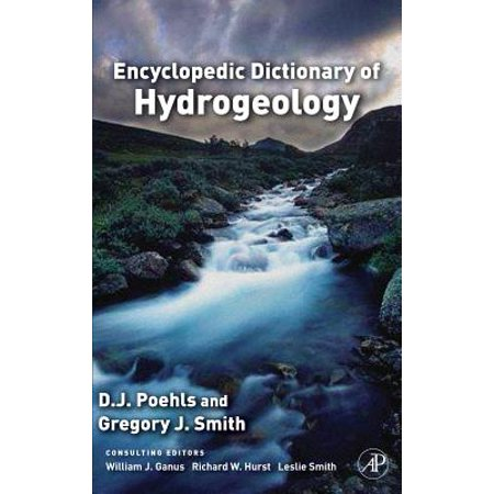 Encyclopedic Dictionary of Hydrogeology