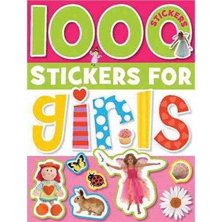 1000 Stickers for Girls - Stickers For Kids