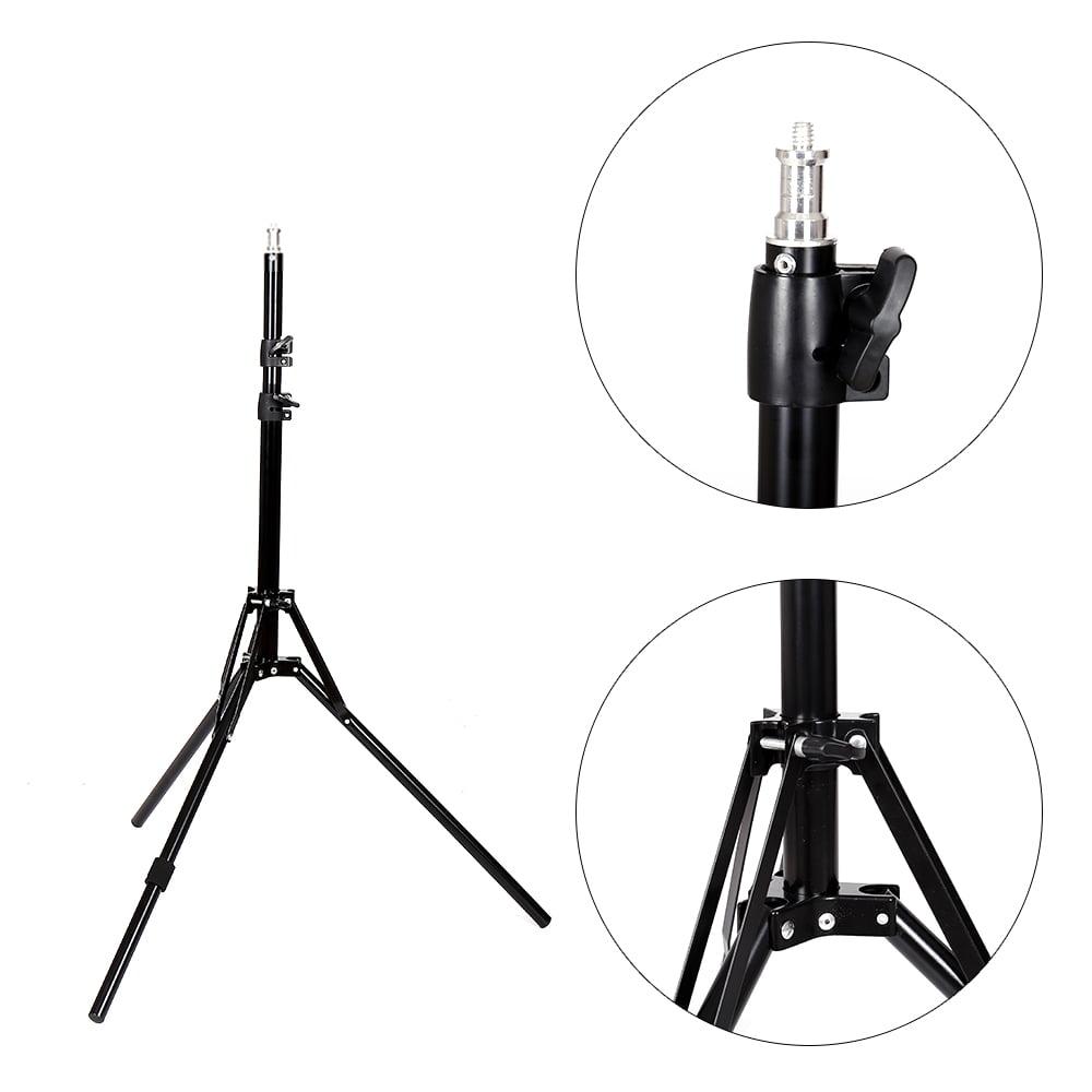 Zimtown 2pcs Light Stand for Lamp Holder Flash Strobe Photo Video Studio Tripod Support - image 2 de 9