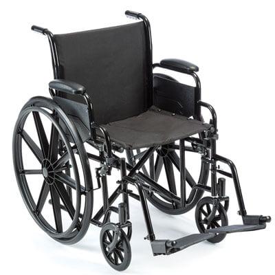 Value K1 Wheelchair with Legrests, 18x16 - 1 Each / Each