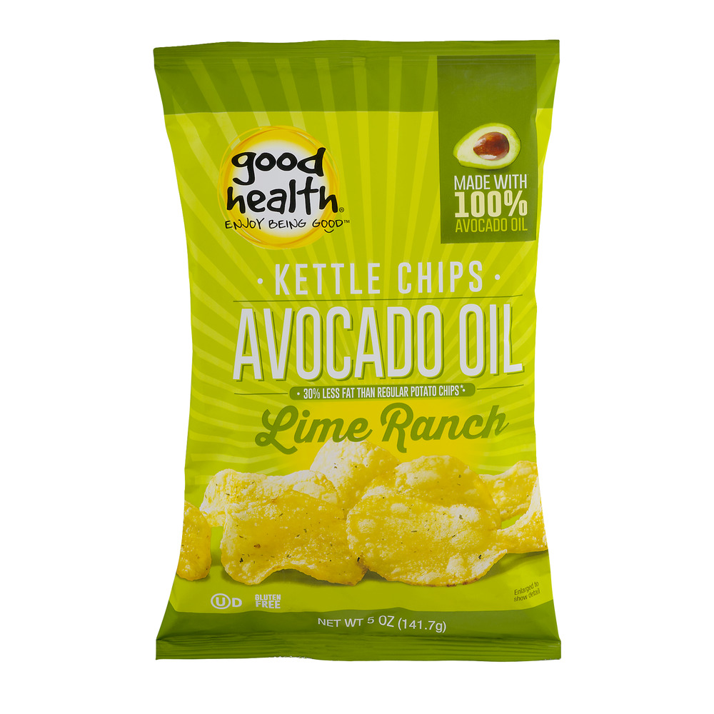 Good Health Kettle Chips Avocado Oil Lime Ranch, 5.0 OZ