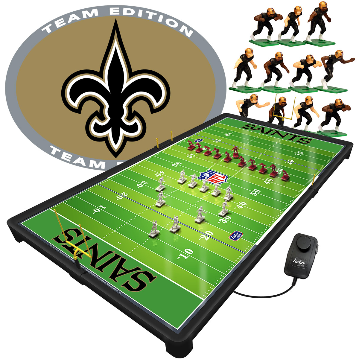 New Orleans Saints NFL Pro Bowl Electric Football Game Set