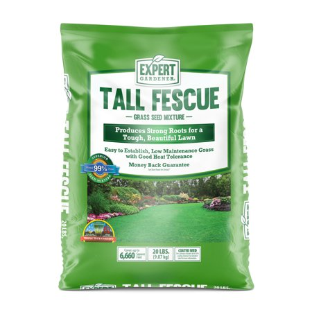 Expert Gardener Tall Fescue Grass Seed Mixture; 20 Pounds