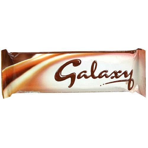 Galaxy Smooth Milk Chocolate, 46g (Pack of 24)