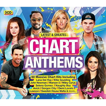 Latest   Greatest Chart Anthems   Various