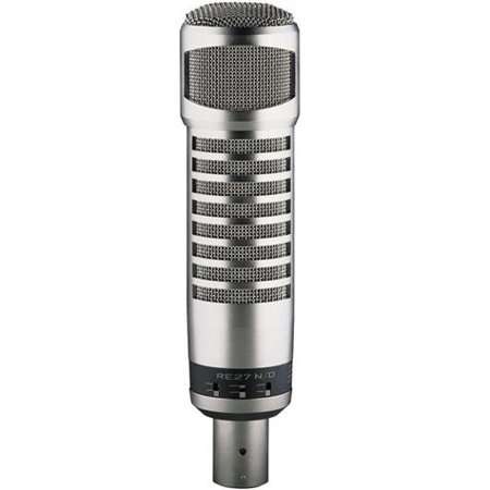 - Electro Voice RE27N/D Broadcast Microphone