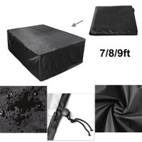 88.6/102.4/113 inch Polyester Waterproof Fabric Outdoor Pool Snooker Billiard Table Cover