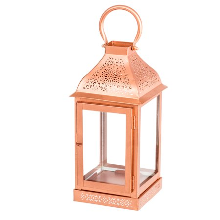 MW - Candle Holder Lantern - Copper - (MW3762) - Main