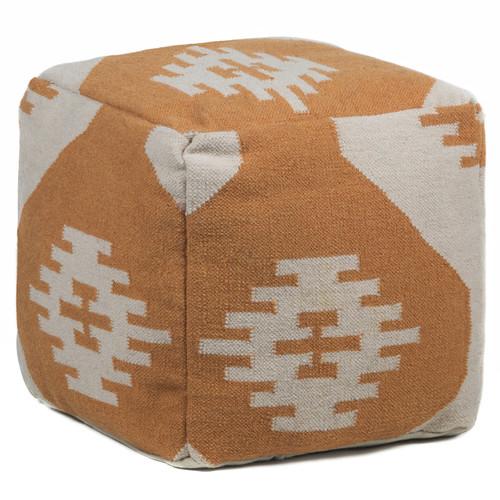 Foundry Select America Textured Pouf Walmart Com