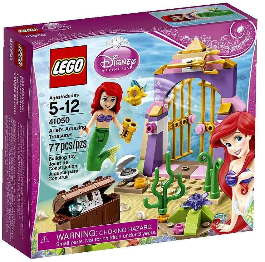 LEGO Disney Princess Ariel's Amazing Treasures Set #41050