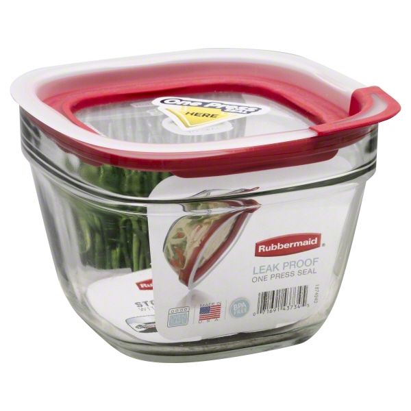 Rubbermaid Inc., Rubbermaid Glass Container 5.5 Cup, 1 container