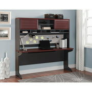 Ameriwood Home Pursuit Credenza and Hutch Bundle