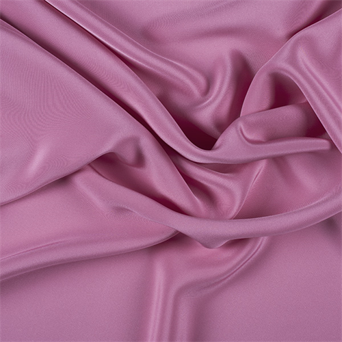 Fabric By The Yard Carnation Pink 4 Ply Silk Crepe