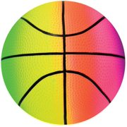 "Hedstrom 54-5260BX Multicolored Basketball, 8.5"" by Ball Bounce And Sport Inc"