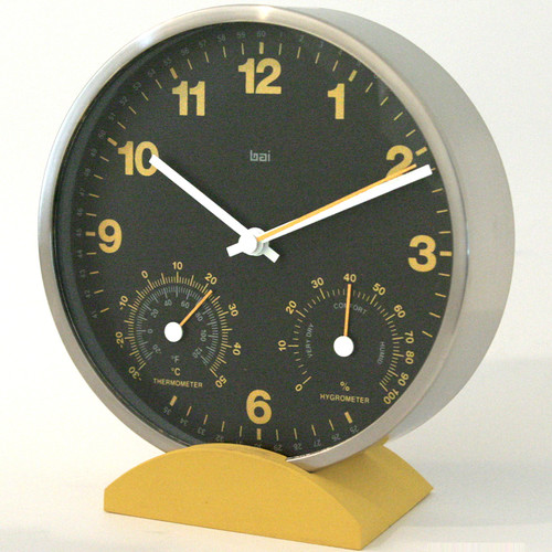 Bai Design 6'' Convertible Weather Station Wall Clock