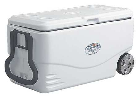 COLEMAN Wheeled Marine Cooler,82qt,120 CanS by COLEMAN