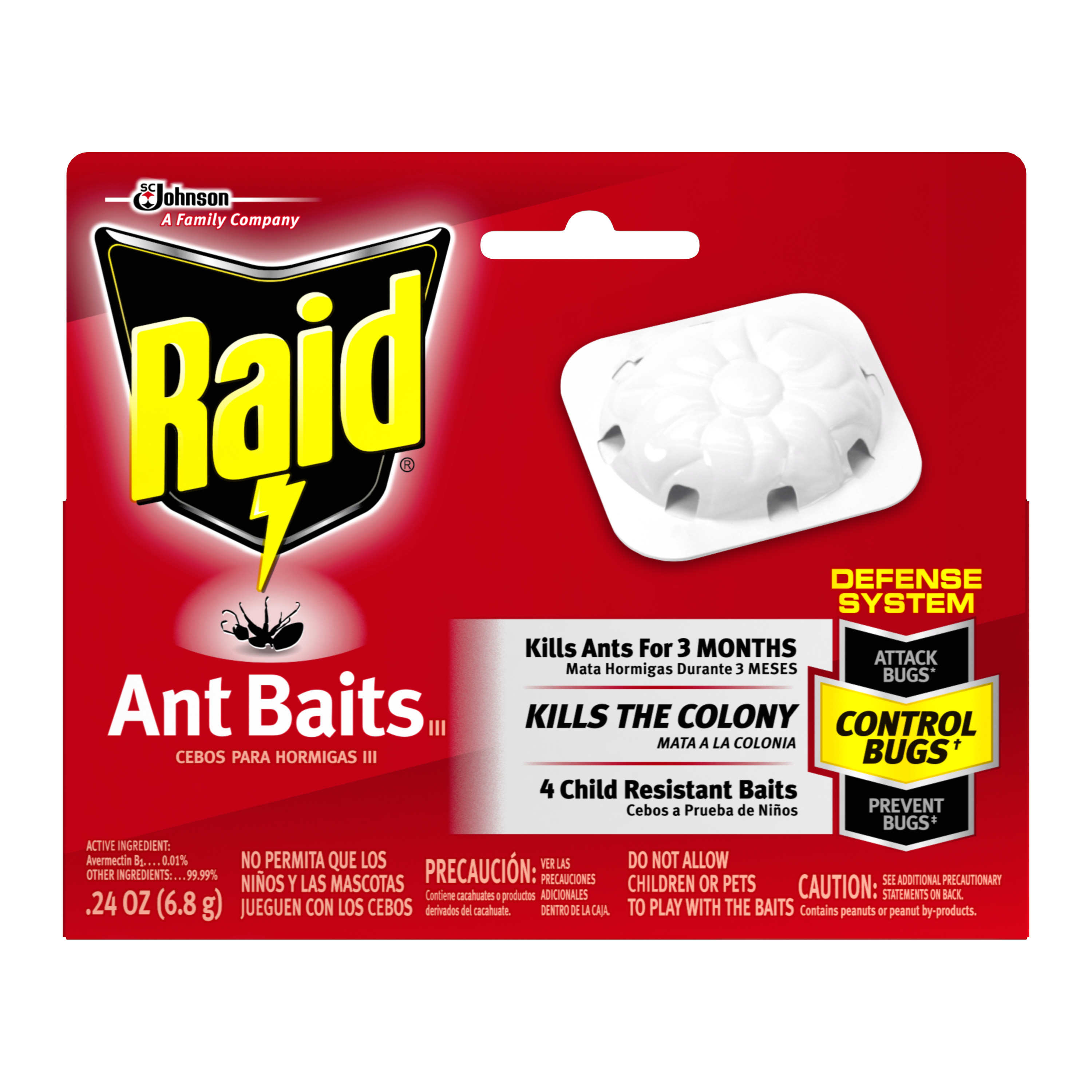 Raid Ant Baits 4 count, 0.24 Ounces