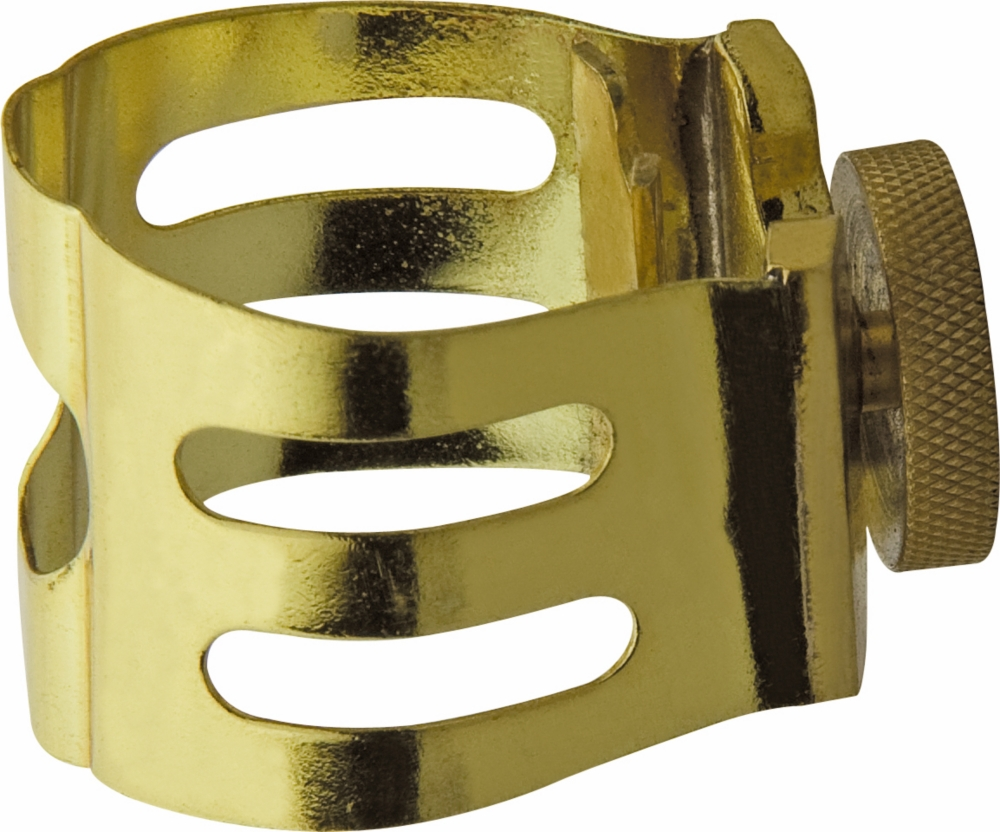 Otto Link Alto Saxophone Ligature Metal by Otto Link