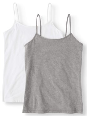 d661f619b4121 Product Image Women's Cami Tank Top, 2 Pack Bundle
